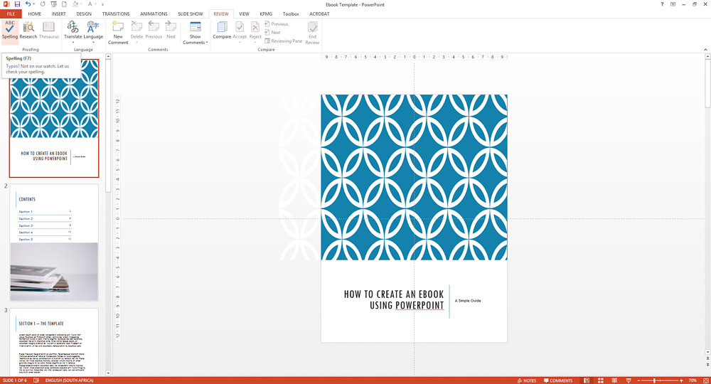 How To Create An Awesome Ebook Using Powerpoint Part 5 Goods