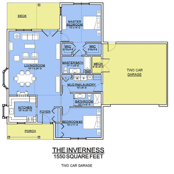inverness garage cottage assisted living floorplan good shepherd endwell - Good Shepherd Village at Endwell
