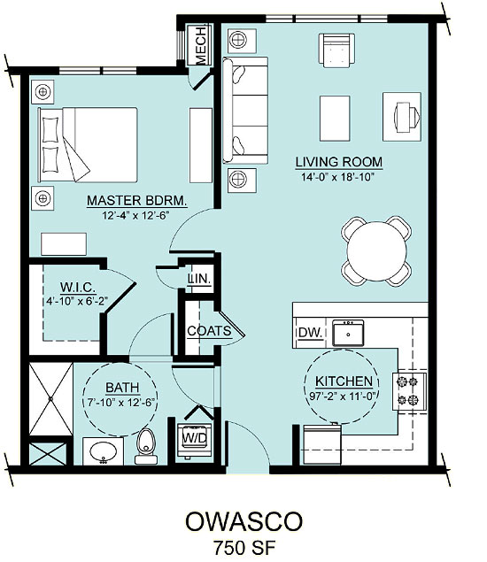 owasco apartment assisted living floorplan good shepherd endwell - Good Shepherd Village at Endwell