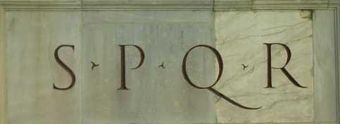 s.p.q.r per terra ile ilgili görsel sonucu