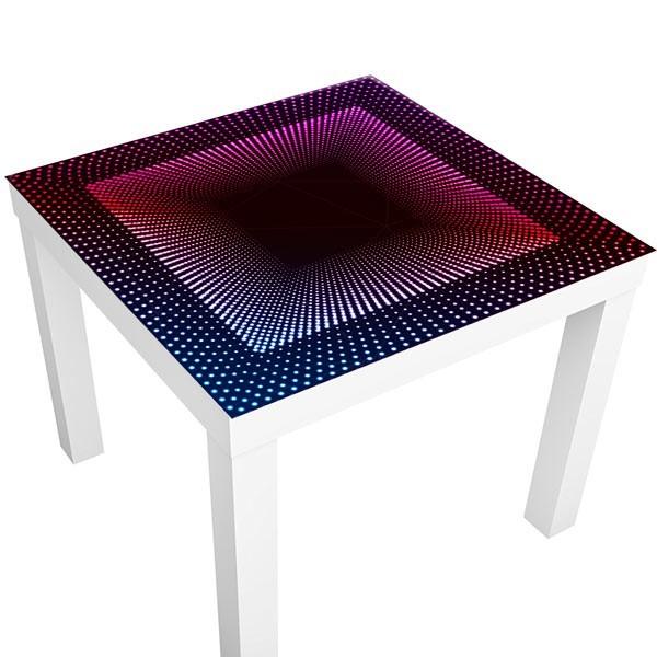 sticker table ikea disco 3d