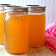 chicken stock quart jars