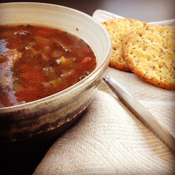 Pot Roast Soup   www.goodstuff.recipes