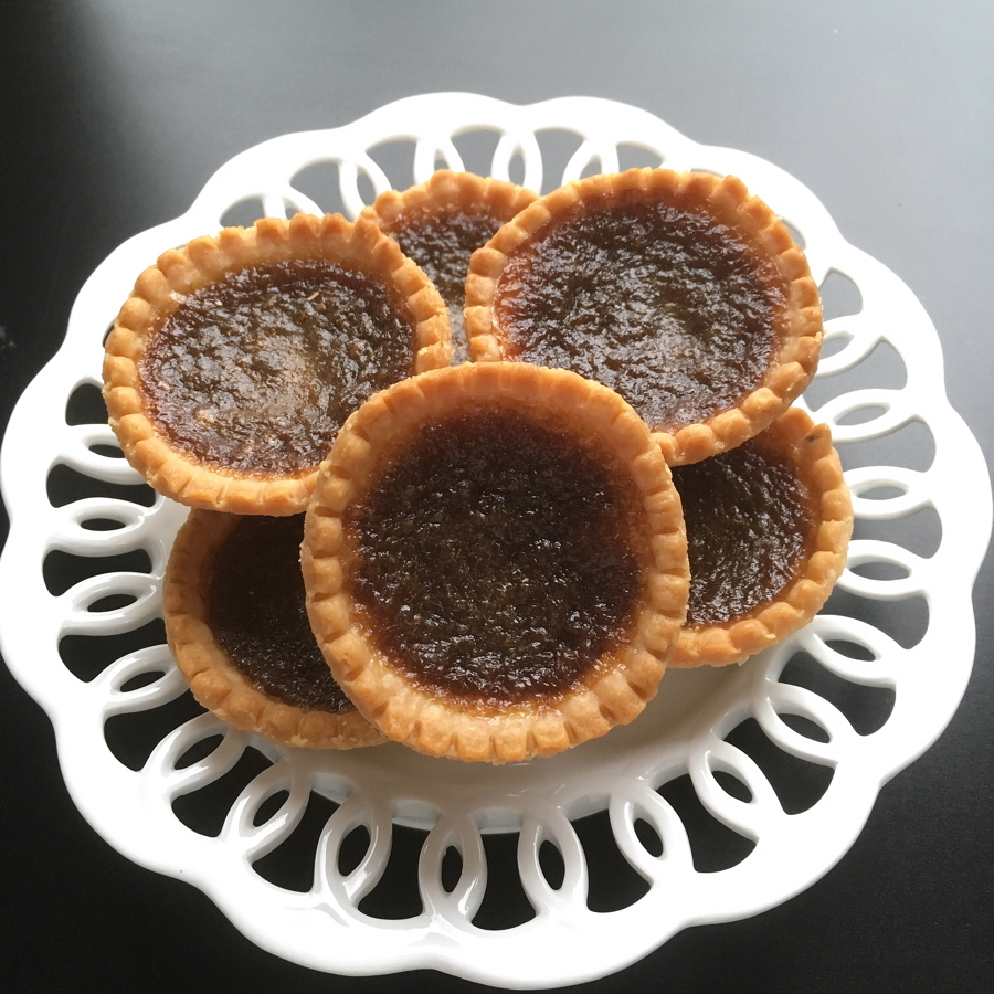 quick maple tarts