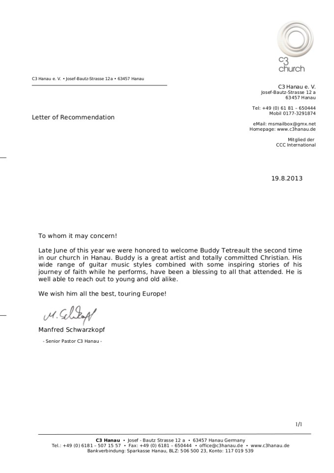 Recommendation Letter For Salary Increase Sample Save Template