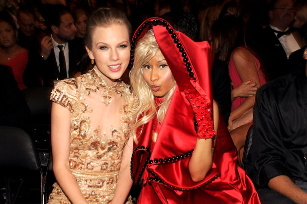 Nicki Minaj and Taylor Swift Spar on Twitter