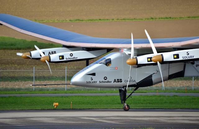 Solar Impulse 2 Grounded; Won't Fly Until April 2016