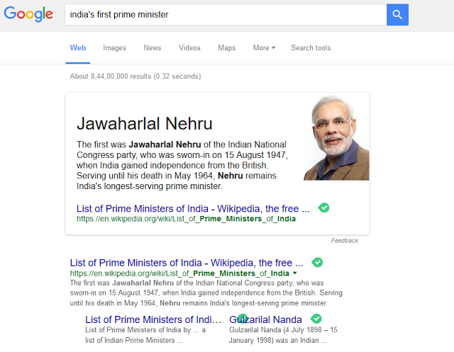 Even Google Can Go Wrong!