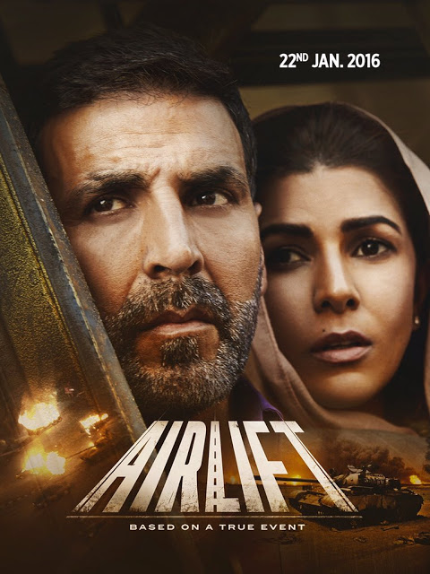AirliftTrailer Released on Twitter by Akshay Kumar