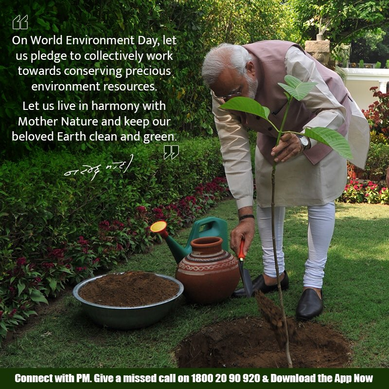 World Environment Day: Pledge to Save the Planet Earth