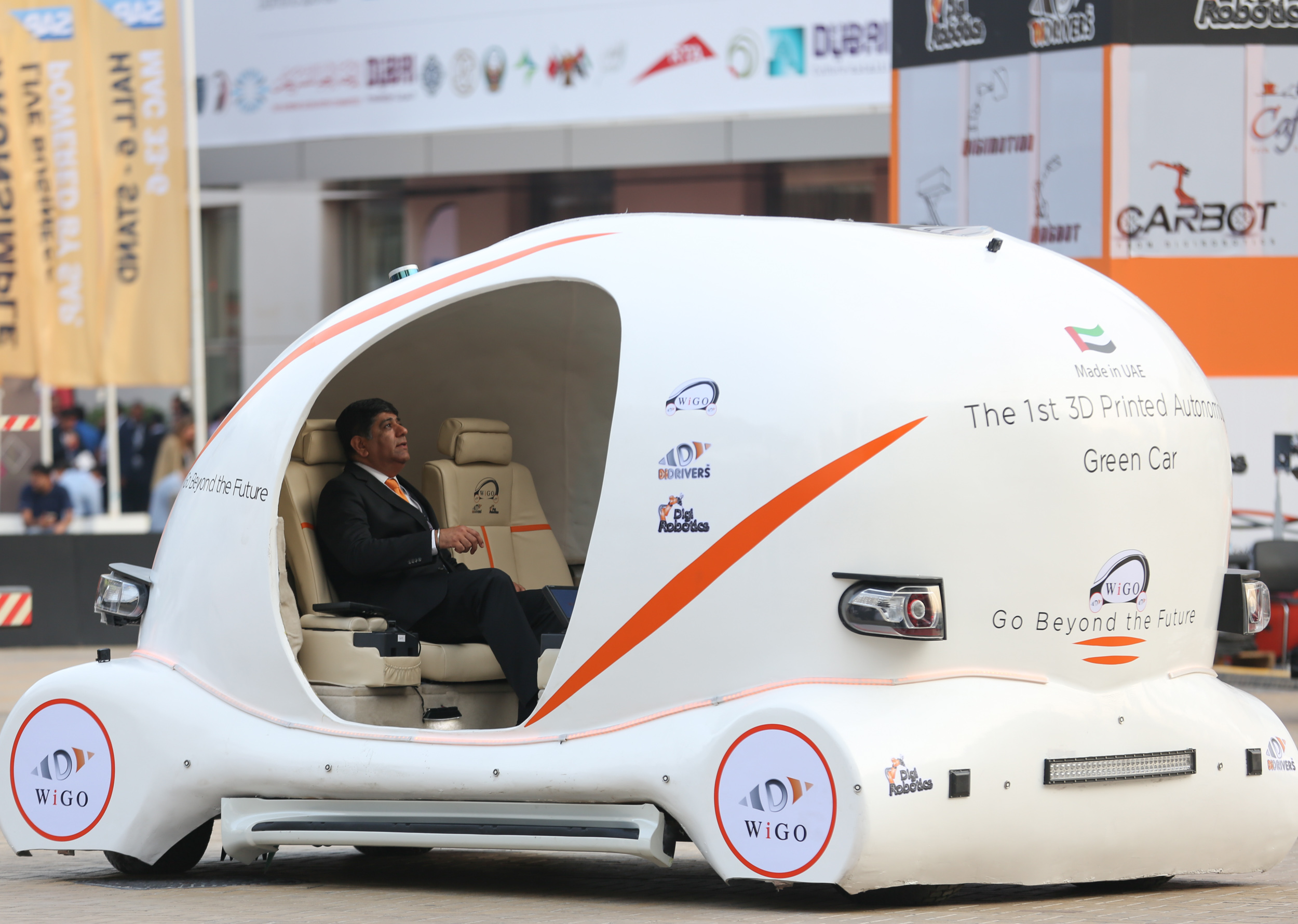 DigiRobotics Launches UAE's First 3D-Printed Car at GITEX