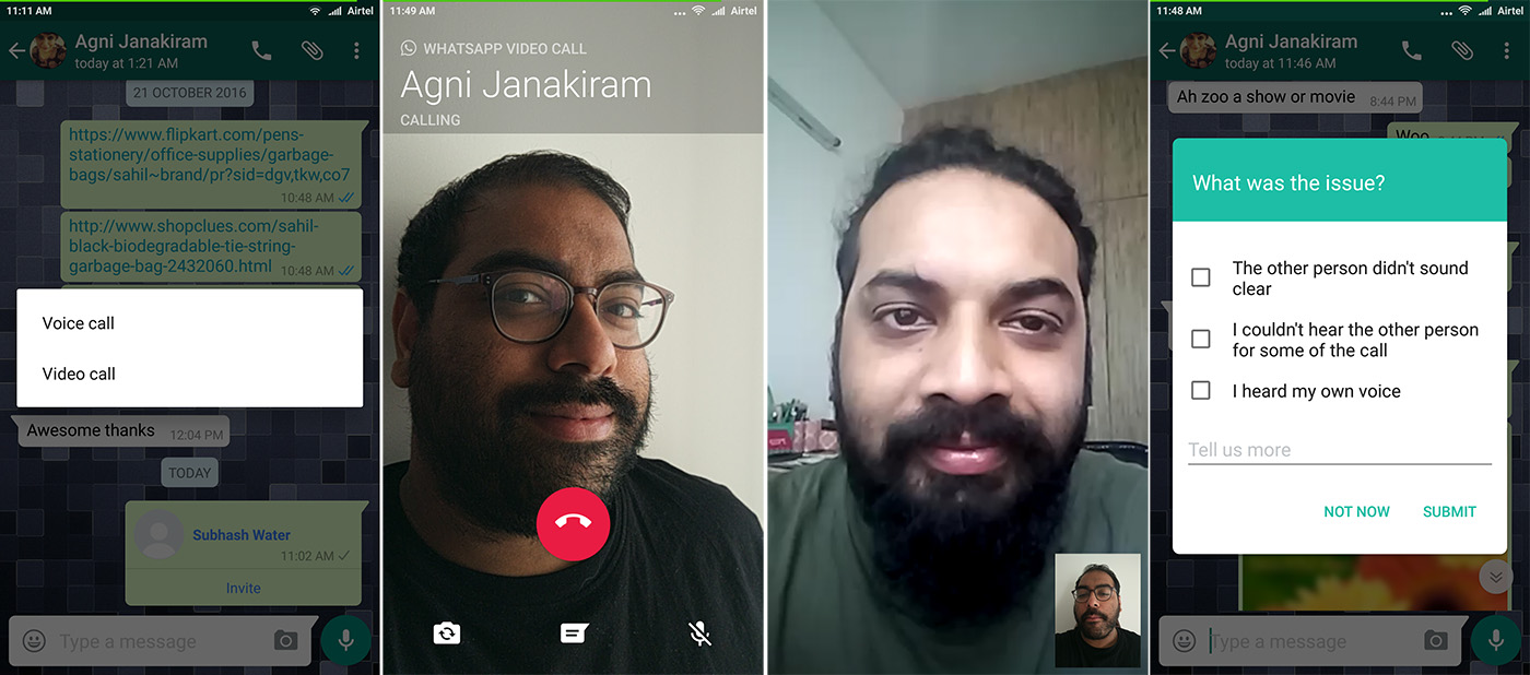 WhatsApp Video Calling on Android; Here's How You Can Install the Update