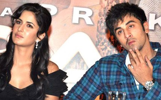 Ranbir and Katrina Spotted at bachchan's Party