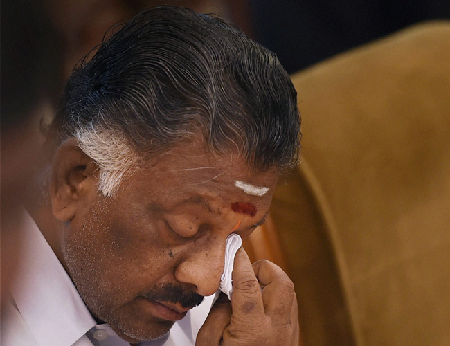 Big Blow for O Panneerselvam, TN Police Statement Goes Against Him