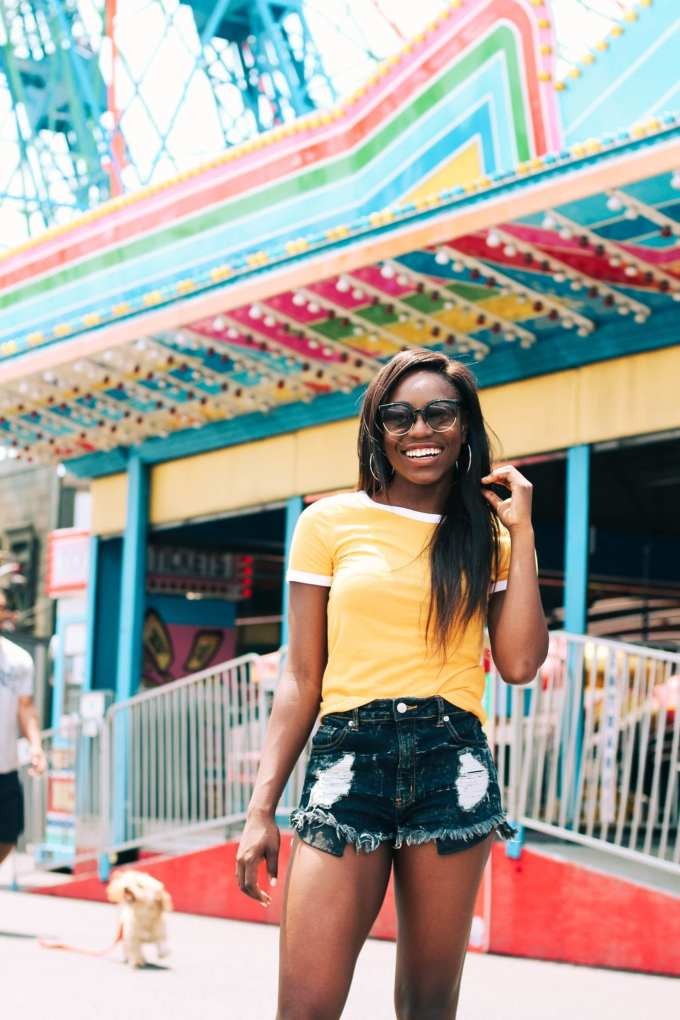 23 reasons why you should start a blog // Coney island photo shoot at Luna Park