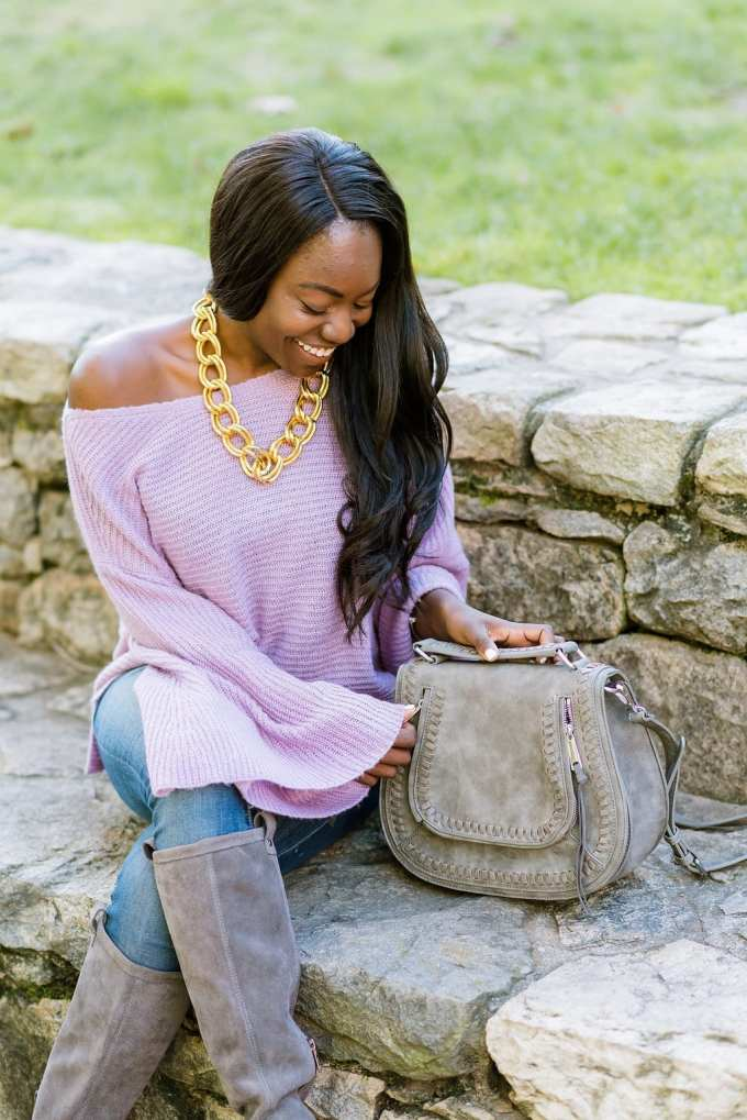Black girl blogger, black fashion blogger, brown girl blogger, nordstrom, bell sleeve, fall style,