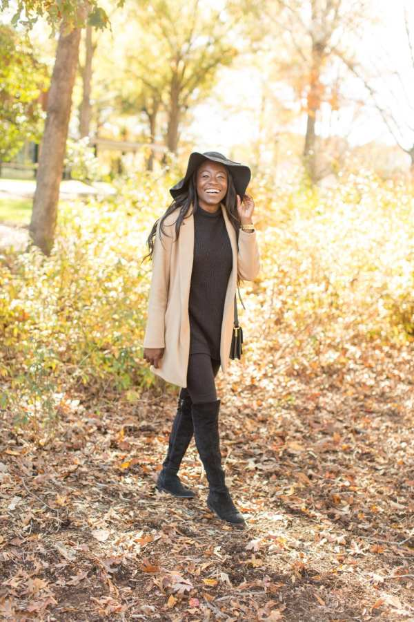 There's nothing more stylish about a fall/winter wardrobe than camel coats. The neutral palette makes it the best for matching all of your #ootds this season. Of course, I enjoy a nice pop of color, but I enjoy the versatility that neutrals can bring. Check out my camel coat choices on the blog! | GoodTomiCha Southern Fashion + Lifestyle Blogger