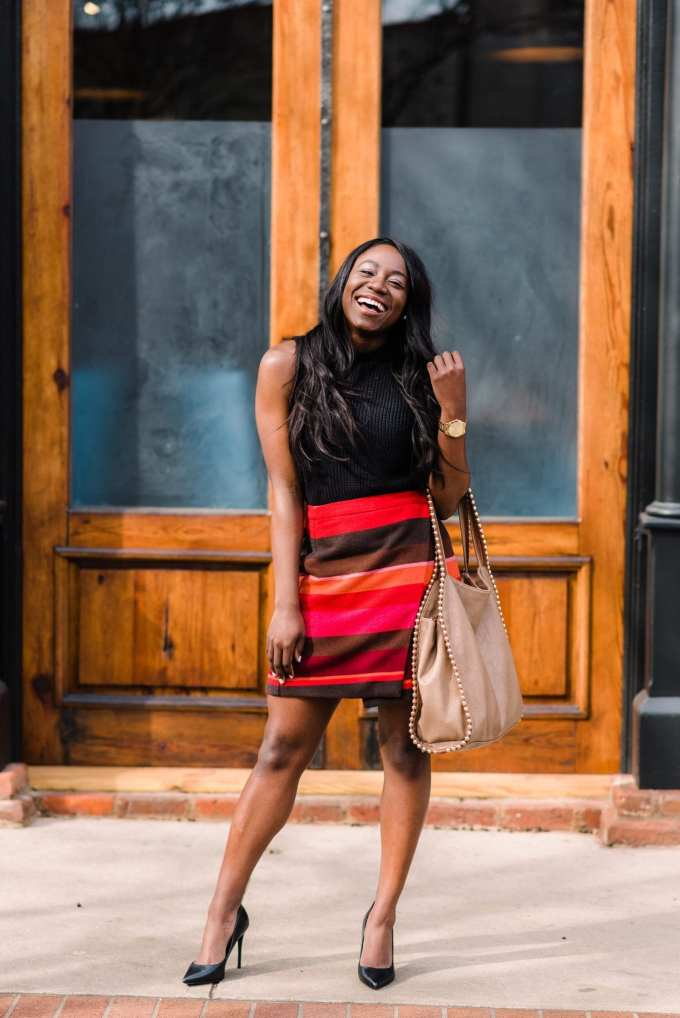 Hi! Tomi Obebe from GoodTomiCha here. I'm a fashion and lifestyle blogger and I'm happy to share with you my 7 favorite places to buy workwear on the blog!