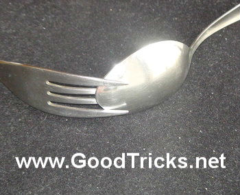 Gravity Defying Spoon And Fork Trick