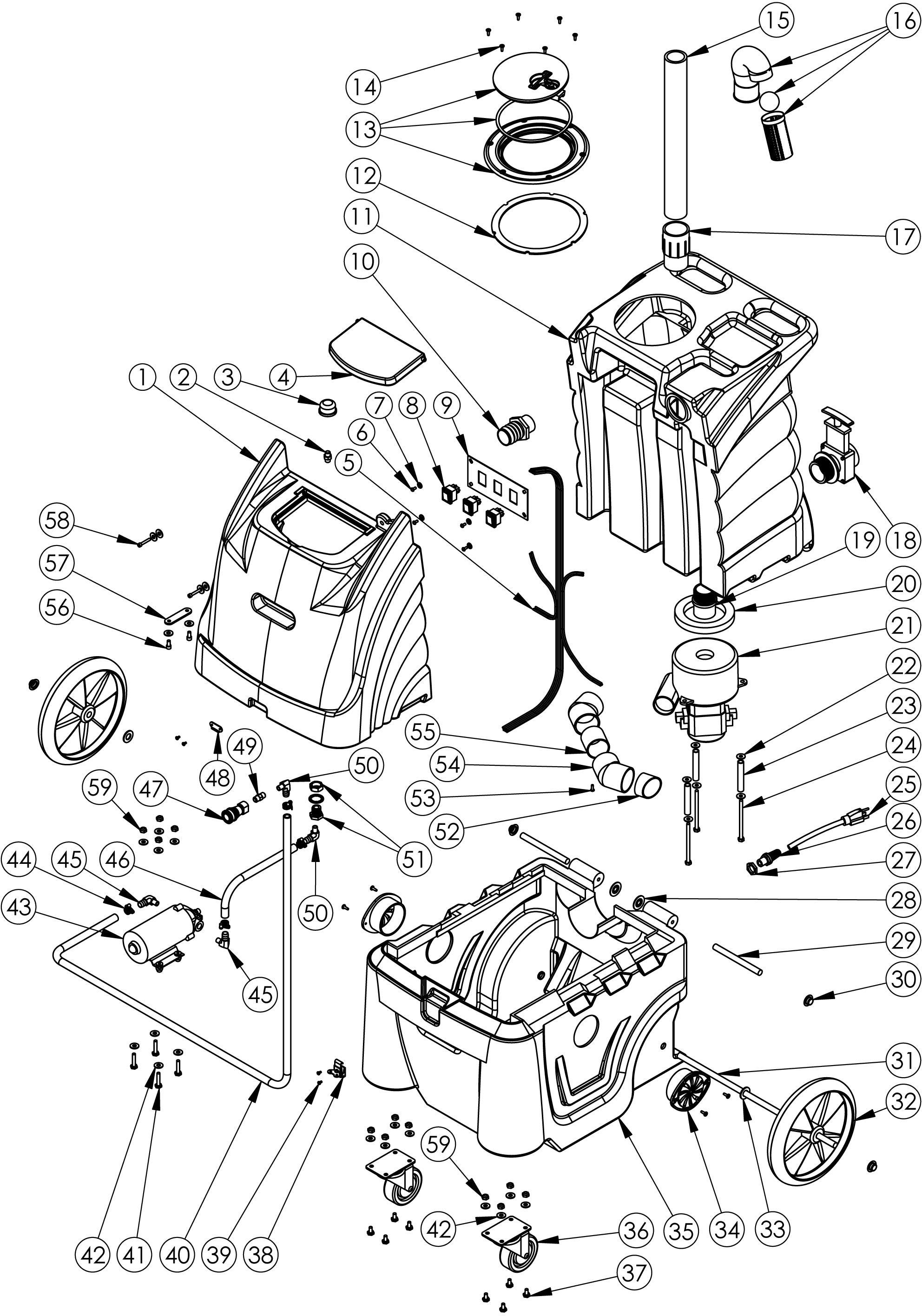 Sandia 86 R 6 Gallon Extractor