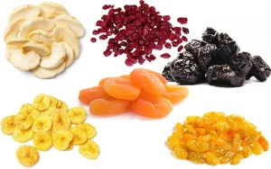 dried fruit nutrition