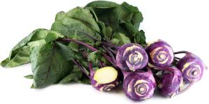 Kohlrabi Nutrition - Purple kohlrabi