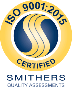 ISO 9001:215 Certification Emblem