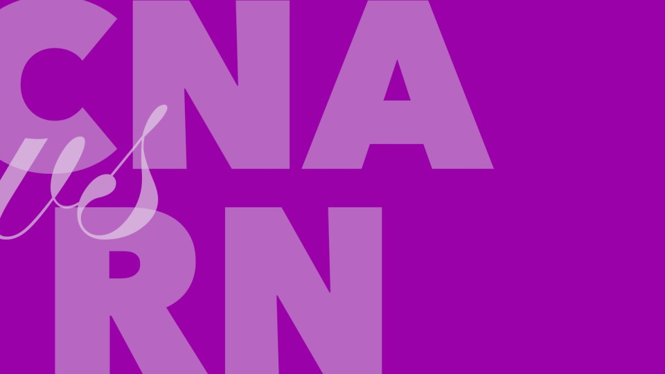 difference between cna and rn