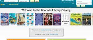 Goodwin Library catalog