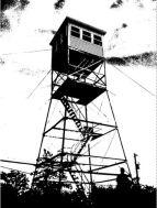 Blue Job Mountain Fire Tower