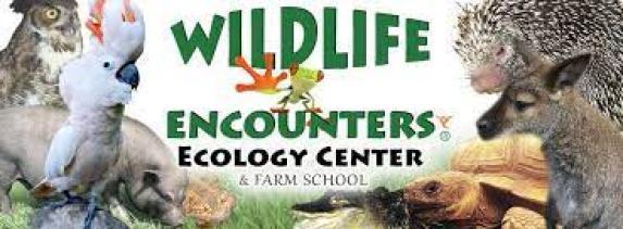 WildLife Encounters Ecology Center and Farm School Logo