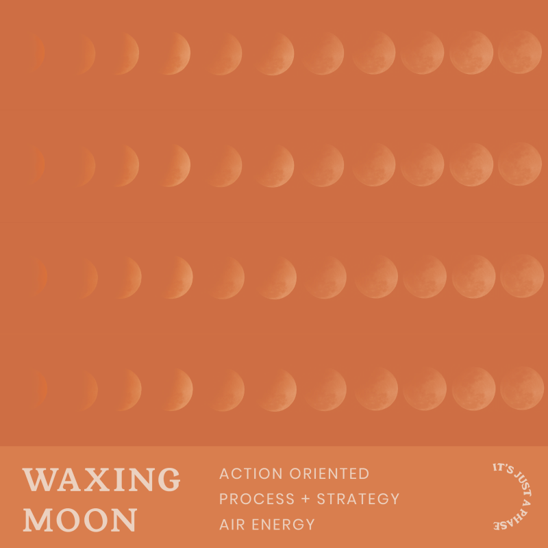 waxing moon