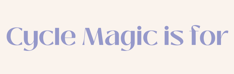 cycle magic is for