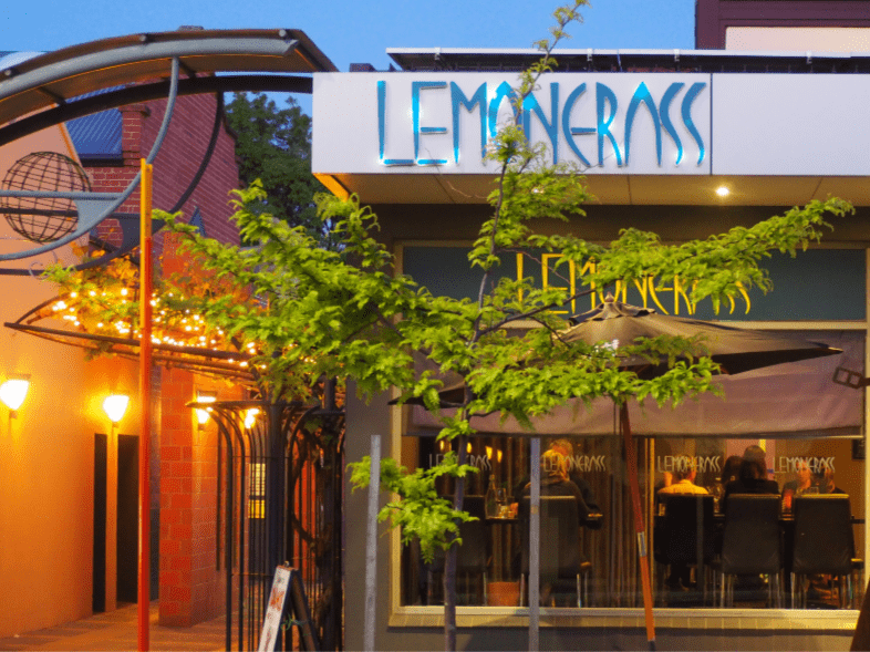 Exterior of Lemon Grass Restaurant