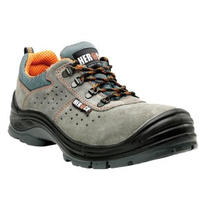 HEROCK® Chaussures Perfo Grey Low Compo S1P