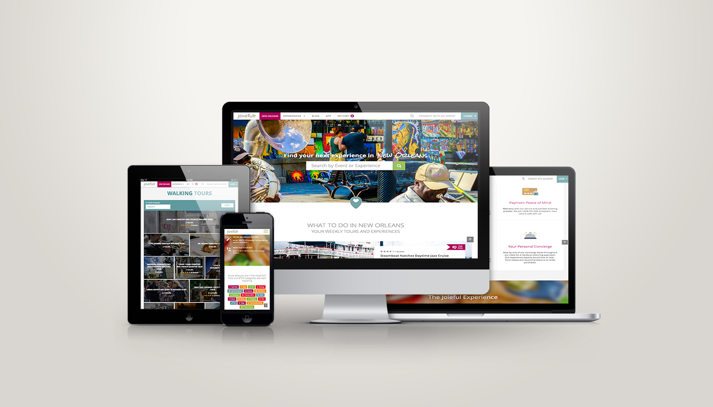 Joieful Website Redesign And Development Good Work Marketing