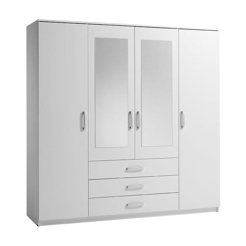 White Wardrobes Simple Yet Beautiful Furniture