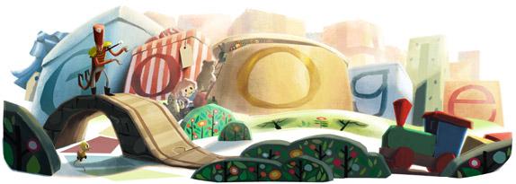 Selamat Natal dari Google!