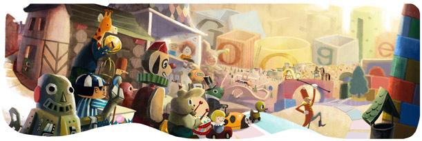 Happy Holidays from Google!