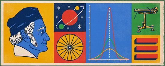 241º aniversario del nacimiento de Johann Carl Friedrich Gauss