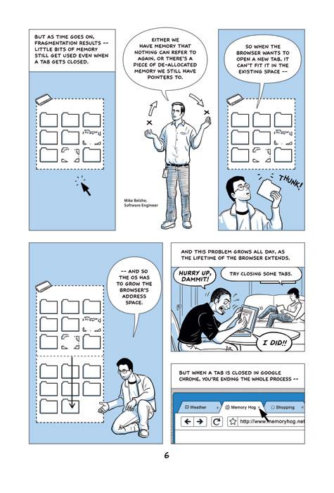 Scott McCloud's Comic Explaining Google Chrome