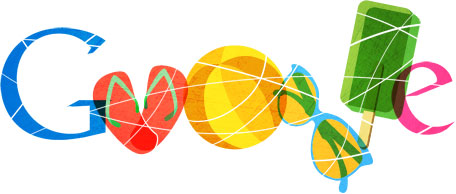australia day google logo
