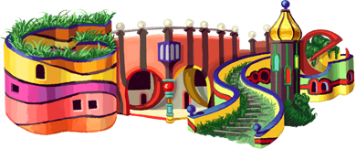 Friedensreich Hundertwassers 83rd Birthday
