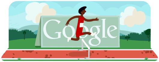 doodle carrera obstáculos londres 2012