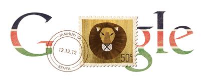 Google Doodle: Kenya Independence Day 2012