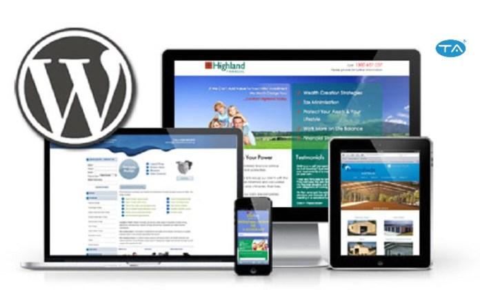 thiết kế Website bằng WordPress có thể ùy chỉnh giao diện