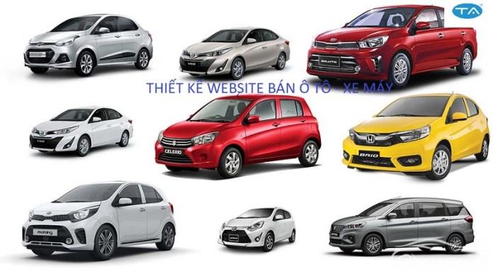 Thiết kế website ô tô – xe máy tại Thuận An gồm những đặc điểm nổi bật gì?