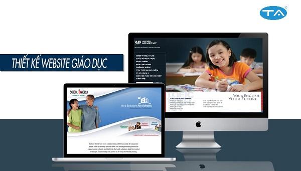 Lợi ích thiết kế website trường học của Thuận An đem lại