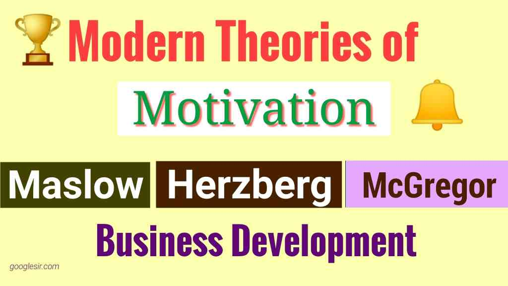 The Modern Theories of Motivation on Employees Relations