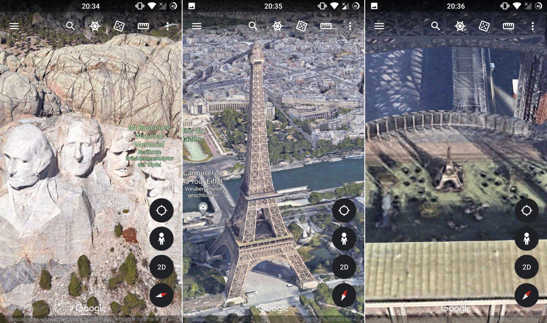 Google Maps Google Earth 3d Ansicht Aufrufen Und Durch Beeindruckende Aufnahmen Fliegen Screenshots Gwb